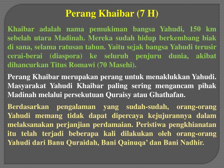 Perang Khaibar (7 H)
