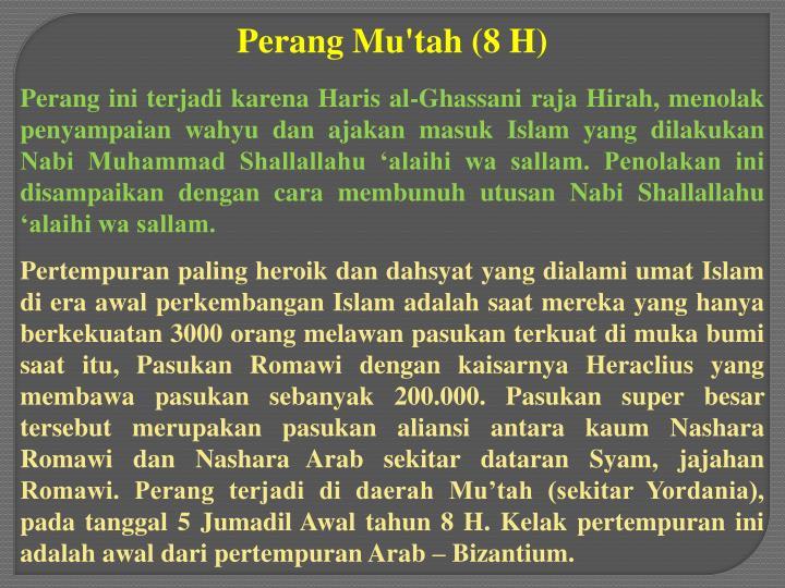 Perang Mu'tah (8 H)