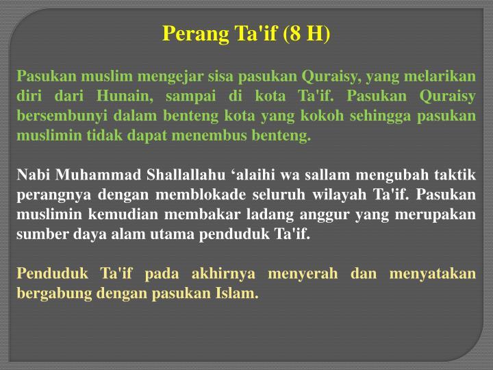 Perang Ta'if (8 H)