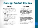 strategy product offering