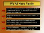 we all need family