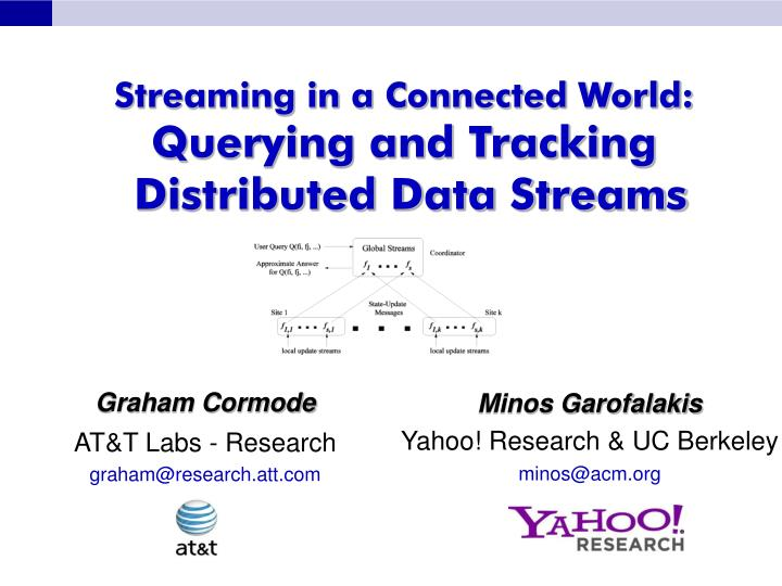 streaming in a connected world querying and tracking distributed data streams n.