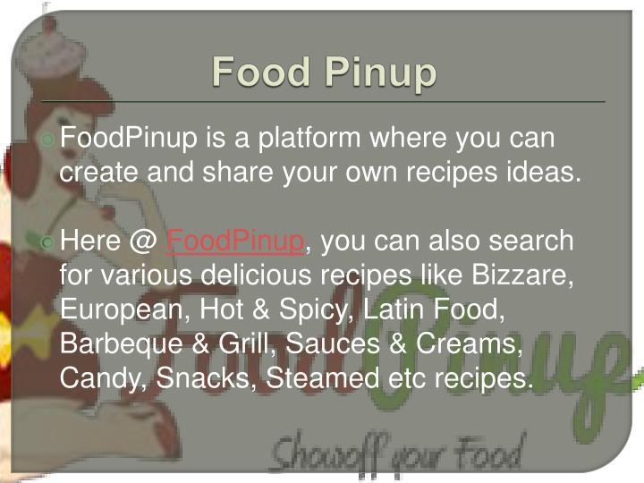 Food pinup