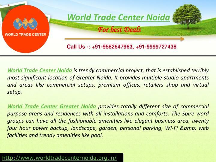 World Trade Center Noida