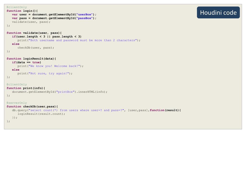 PPT - Houdini PowerPoint Presentation - ID:2958110