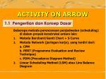 activity on arrow1
