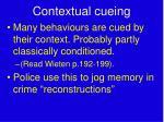 contextual cueing