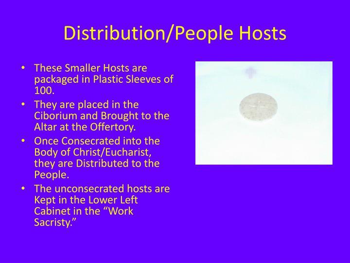 Distribution/People Hosts