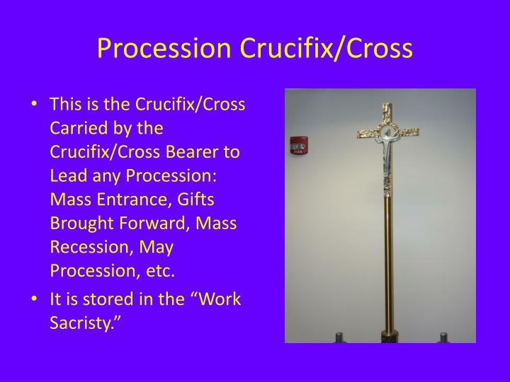 Procession Crucifix/Cross