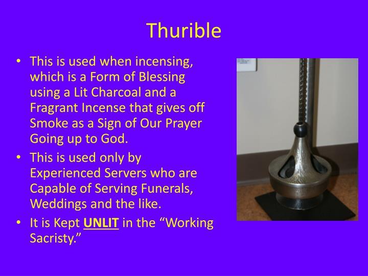 Thurible