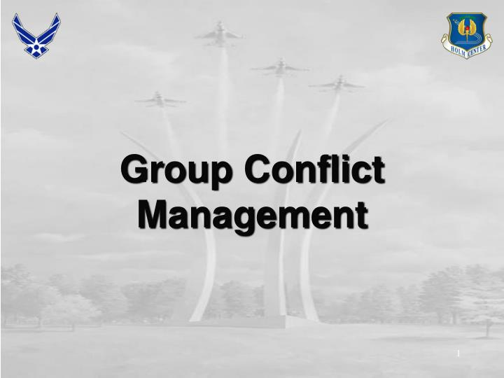 Group Conflict Management
