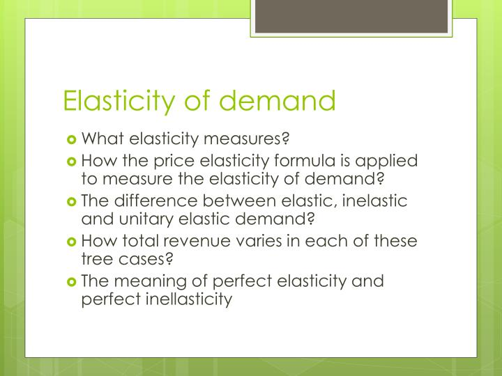 quiz questions on price elasticity of The price elasticity of demand measures how much to play this quiz, please finish editing it 10 questions show answers question 1 300 seconds.
