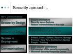security aproach