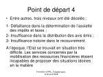 point de d part 4