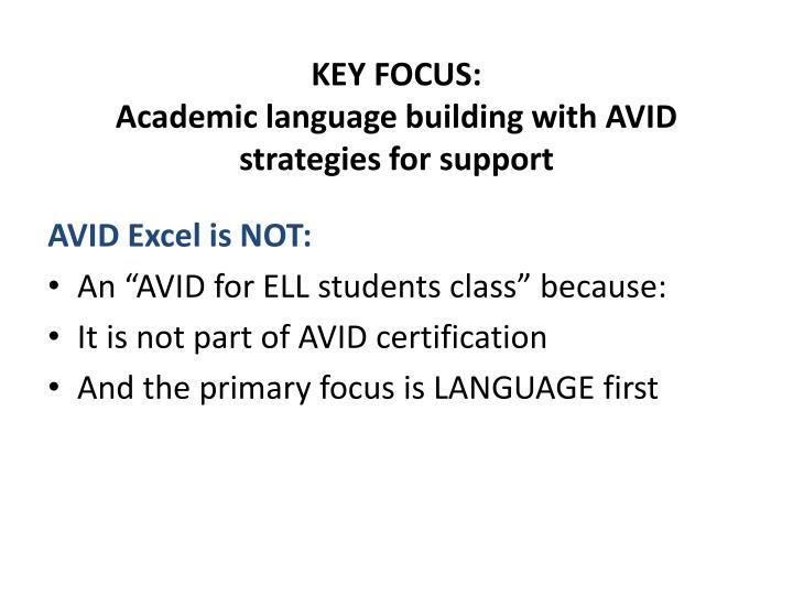 Ppt Avid Excel Goal Powerpoint Presentation Id2959324