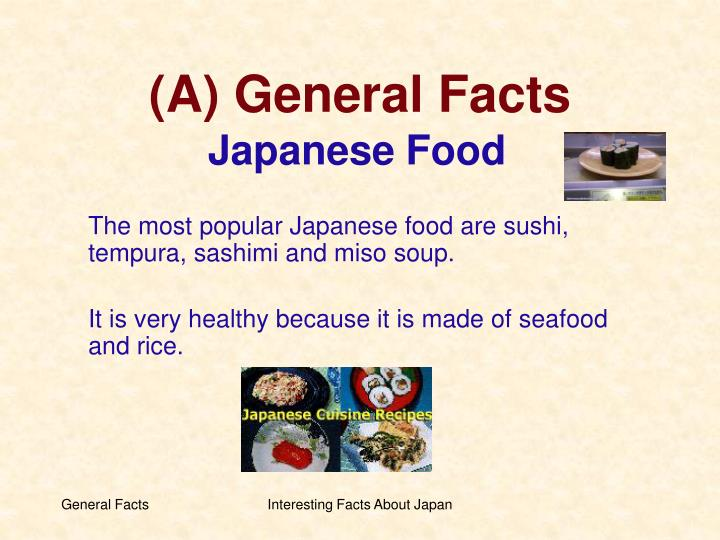 (A) General Facts