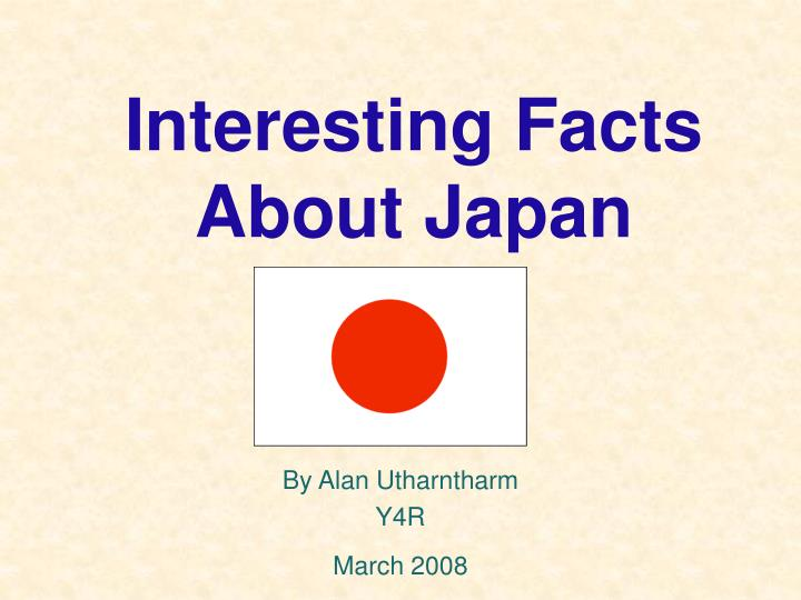 interesting facts about japan n.