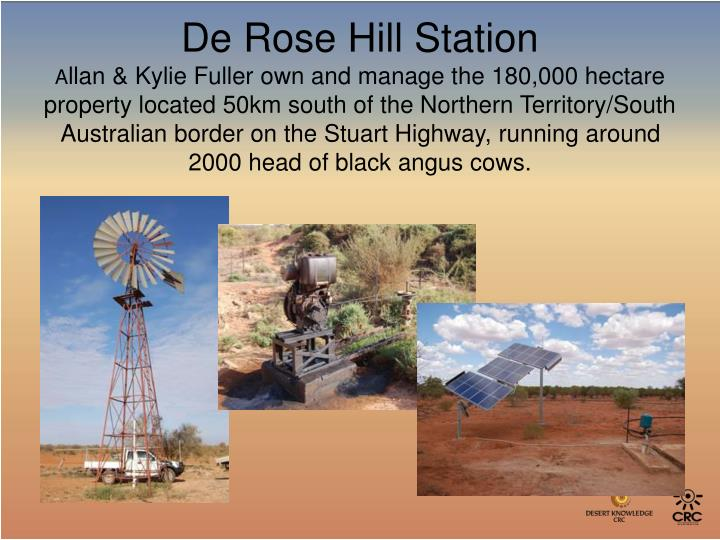 De Rose Hill Station