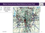 marion county schools alcohol retail outlets by school district