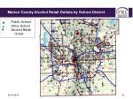 marion county schools alcohol retail outlets by school district2
