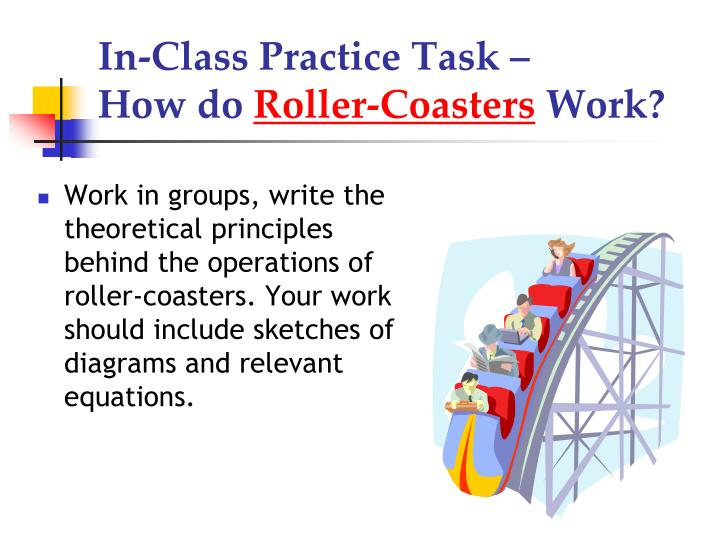 In-Class Practice Task –