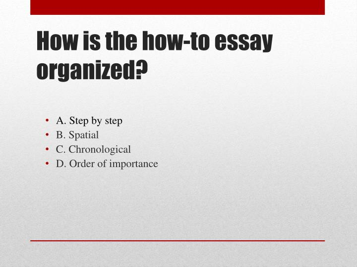 why you should get organised essay The right attitude for staying organized in college check out: the ultimate guide to college motivation to stay motivated 1 be motivated i can't stress enough how important it is that you are motivated to tackle the mess in your life otherwise, when the going gets tough, you will get sloppy.