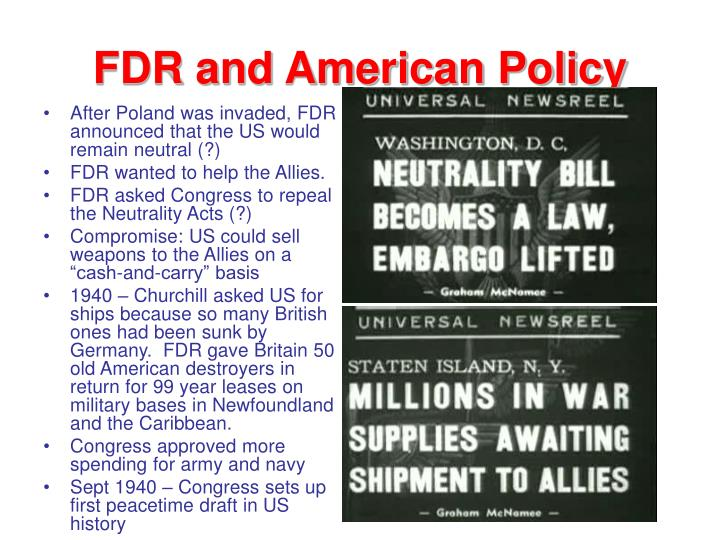 FDR and American Policy