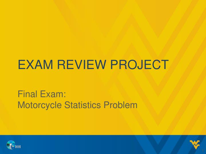 exam review project n.