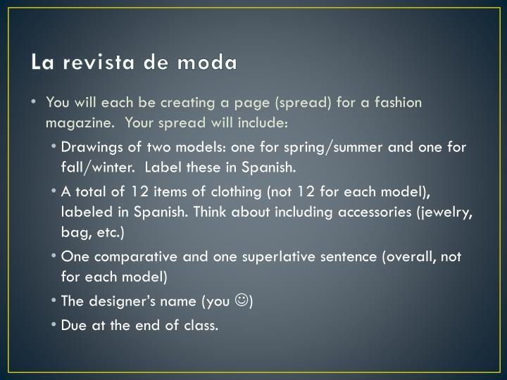 La revista de moda1