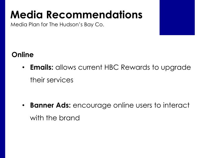 Media Recommendations