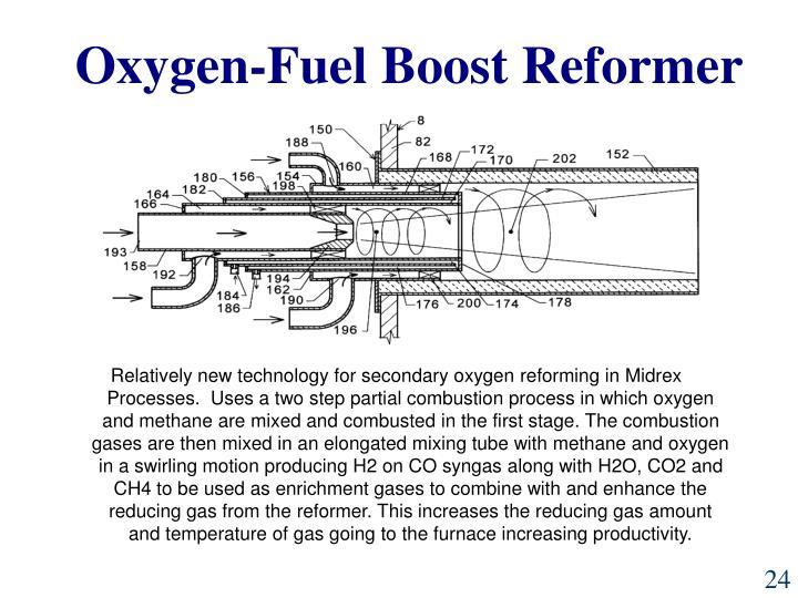 Oxygen-Fuel Boost Reformer