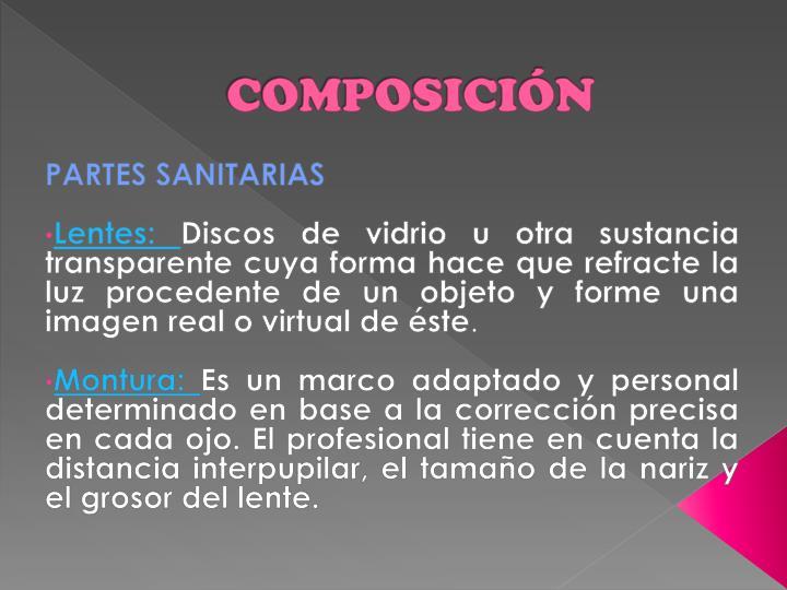 PPT - GAFAS-ANTEOJOS PowerPoint Presentation - ID:2960375