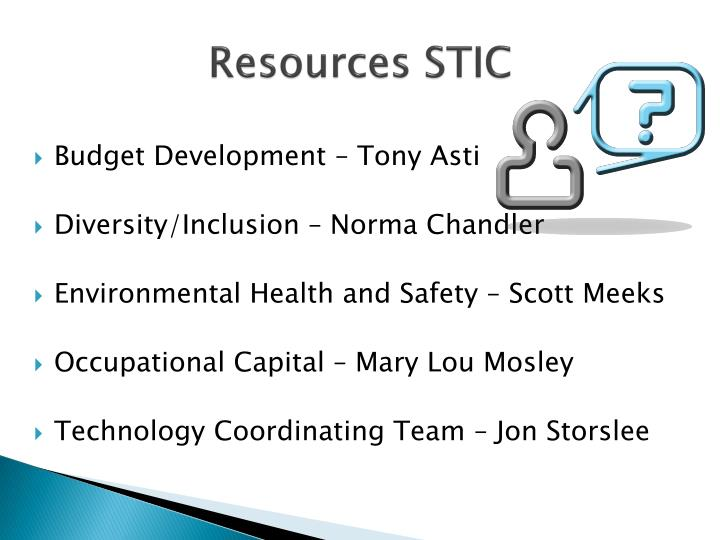 Resources stic1
