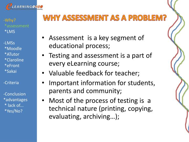 Ppt Lms Tools For Assessment Moodle Or Not Moodle Powerpoint