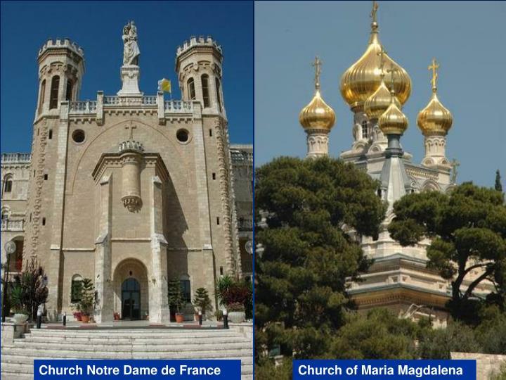 Church Notre Dame de France