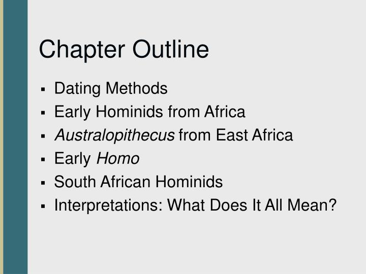 Chapter outline1
