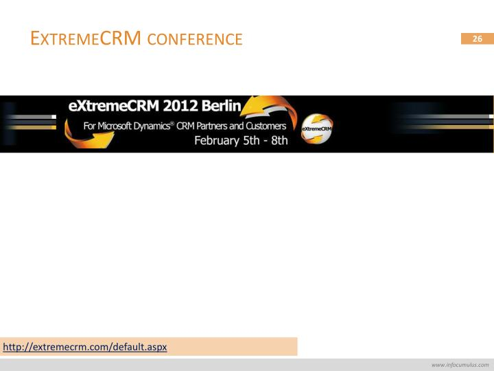 ExtremeCRM conference