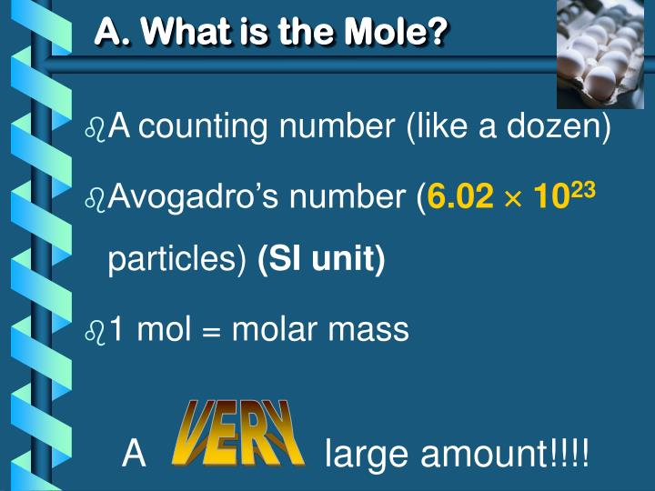A. What is the Mole?