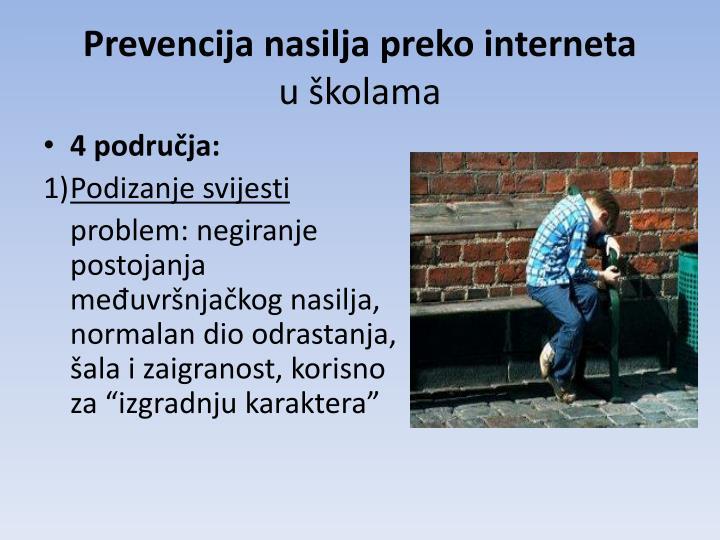 Prevencija nasilja preko interneta