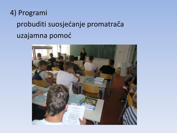 4) Programi