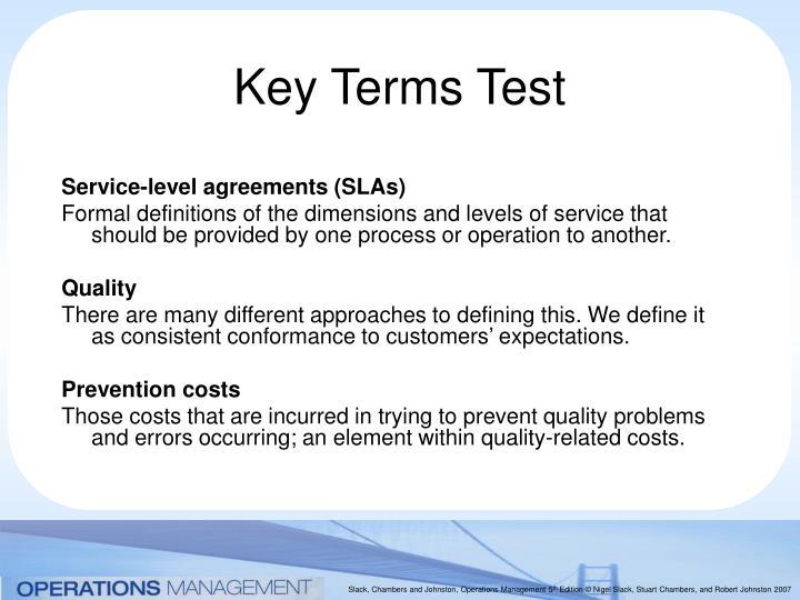 Key terms test1