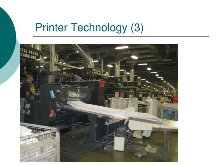 Printer Technology (3)
