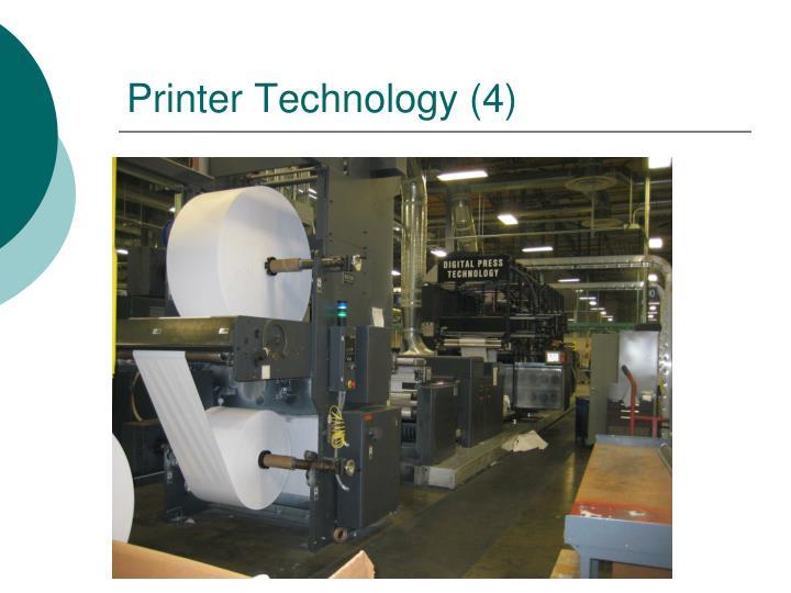 Printer Technology (4)