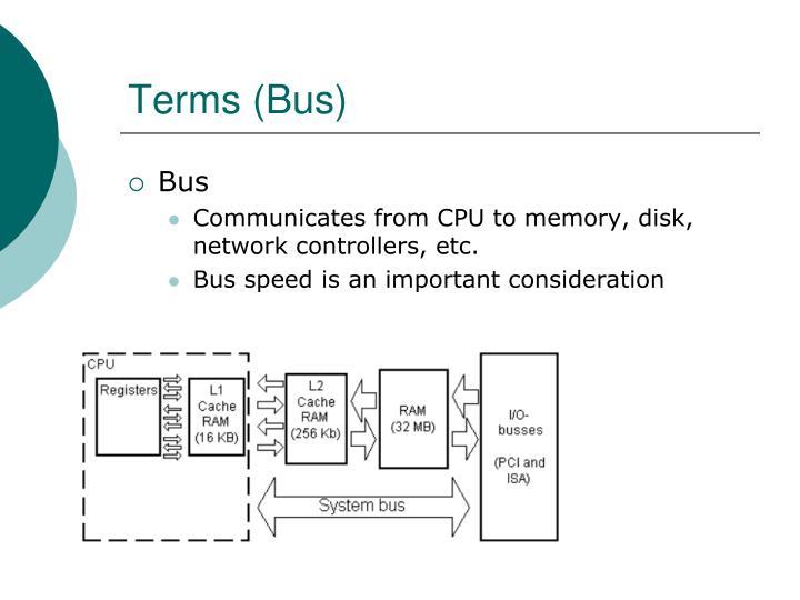 Terms (Bus)