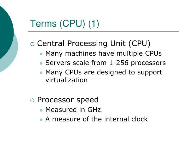 Terms (CPU) (1)