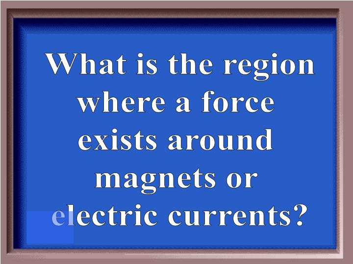 What is the region