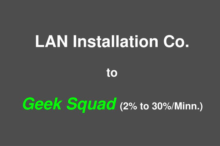 LAN Installation Co.