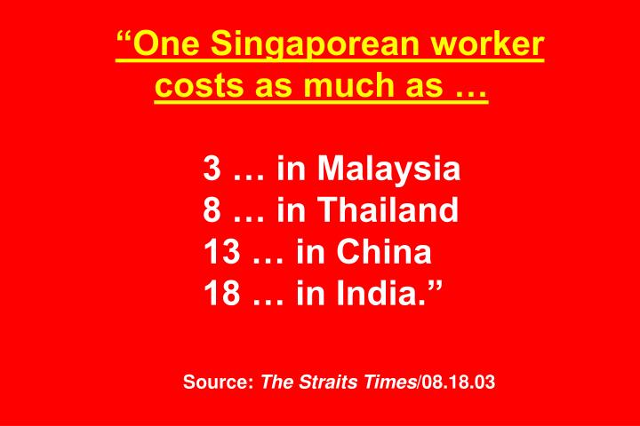 """One Singaporean worker"
