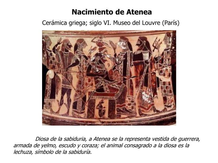 Nacimiento de Atenea