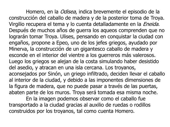 Homero, en la